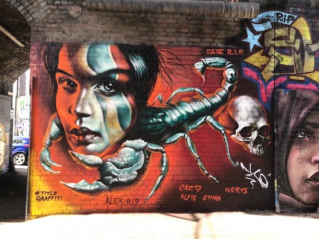 title grafitti